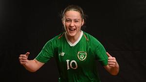 Republic of Ireland U19 women's captain Megan Mackey