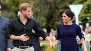 Prince Harry was first spotted wearing the ring in Australia. Photo: Getty