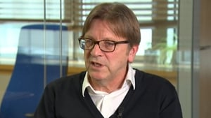 Guy Verhofstadt was speaking on Claire Byrne Live