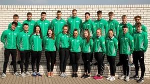 The Irish team for the 2019 World Championships, World Junior Championships and European Junior Championships