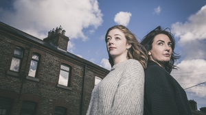 Emma Willis and Ciara O Callaghan star in Gary Duggan's new play 'Spotless'