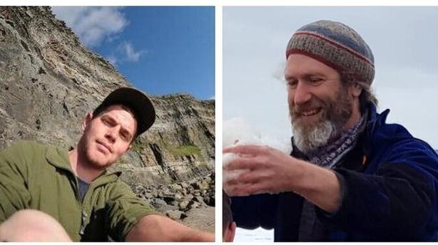 Left: Dónal Glackin; right: Gareth Doherty