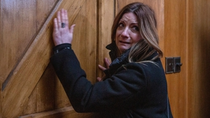 Harriet is terrified when she gets locked into the church on Emmerdale