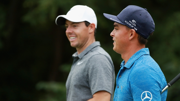 Rory McIlroy and Rickie Fowler will be joined by Australian Cameron Smith for the first two rounds at Augusta