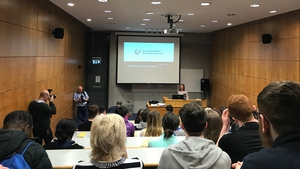 Judge Tara Burns addressed students and staff at Letterkenny Institute of Technology today