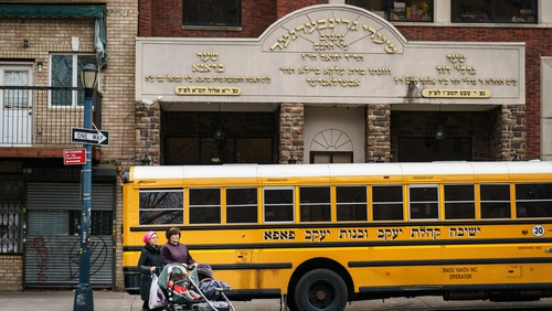 Outbreak is primarily affecting member of the Orthodox Jewish community