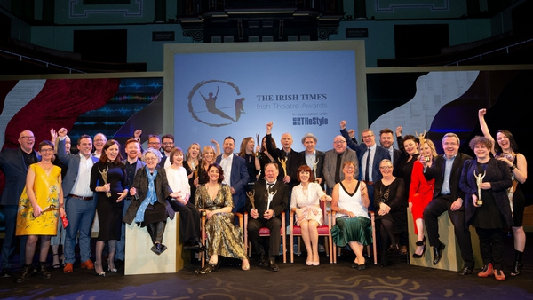 All the winners at this year's Irish Times Theatre Awards