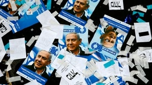Likud and other right-wing parties projected to take around 65 seats in parliament
