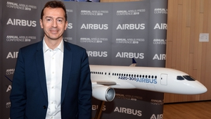Airbus chief executive Guillaume Faury