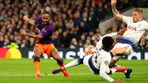 Danny Rose was penalised for handball after a video review
