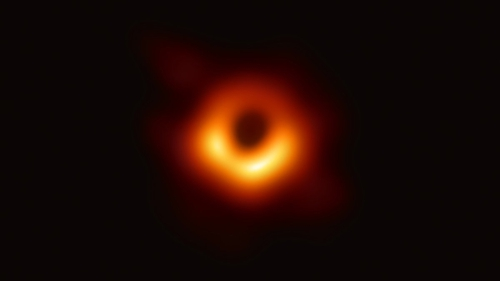 The image was taken by the EU-funded Event Horizon Telescope