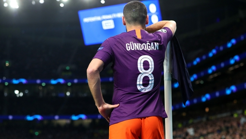 Ilkay Gundogan is concerned by Manchester City's lack of confidence in Europe