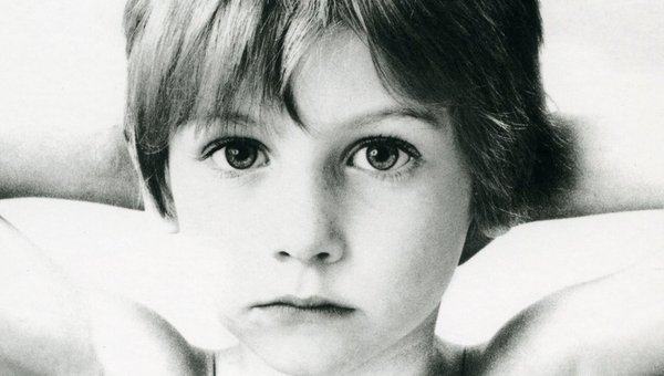 The cover of U2's debut album 'Boy'