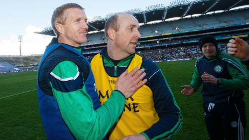 Henry Shefflin takes in Ballyhale's victory against St Thomas' on St Patrick's Day