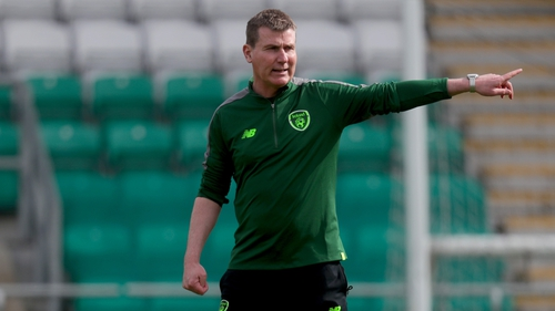 Ireland under-21 manager Stephen Kenny