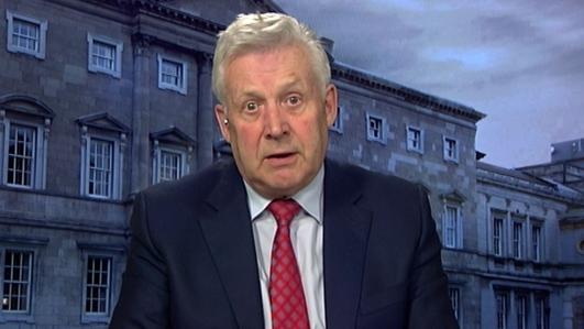 Fergus O' Dowd, cathaoirleach Coiste Oireachtais ar Spórt agus Iompar.