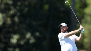 Shane Lowry starts the Par-3 with an ace