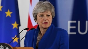 Theresa May said she stood over her wish to leave the European Union with a deal 'as soon as possible'