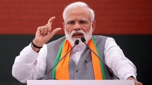 Narenda Modi's National Democratic Alliance is projected to win between 339-365 seats in the 545-member lower house of parliament