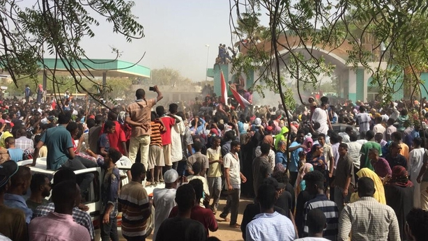 Sudan President Bashir STEPS DOWN as tens of thousands march in protests against regime