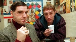 Brendan Coyne and Michael McElhatton