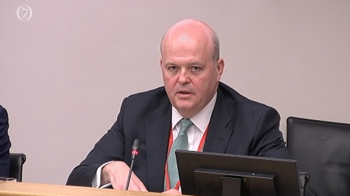 AIB's chief executive Colin Hunt