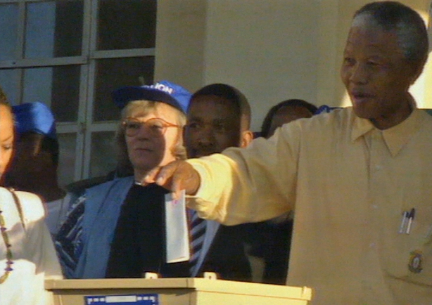 Nelson Mandela Votes for the first time (1994)