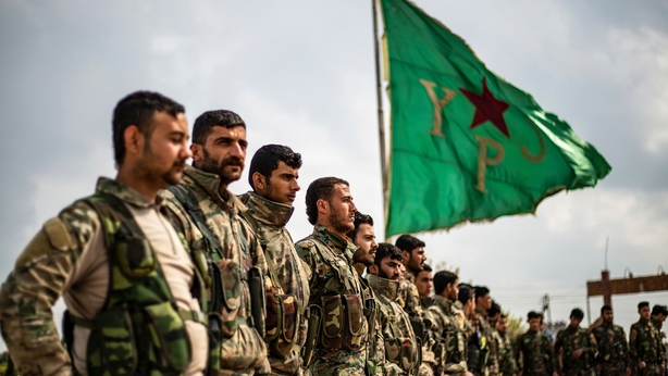 SDF troops Syria