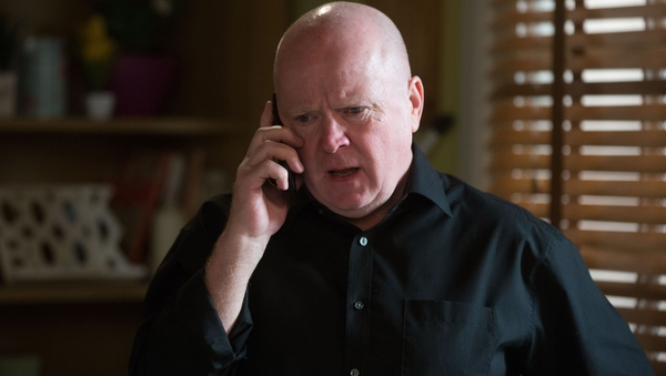 Phil gets the dreaded call on EastEnders