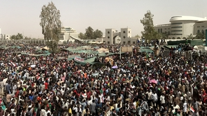 Thousands of people have demonstrated almost daily in anti-Bashir protests