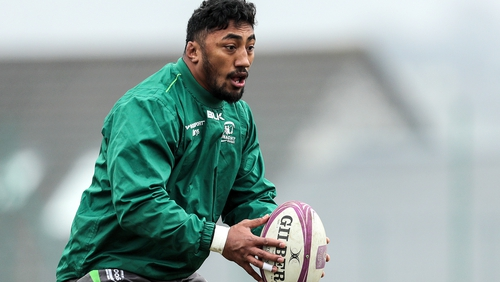 Bundee Aki was rested for the win over Zebre