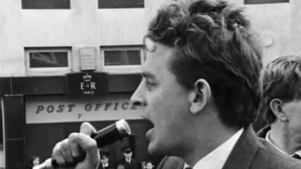 Austin Currie Addresses Omagh Civil Rights Demonstration (1969)