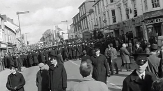 Civil Rights March Omagh, 12 April 1969