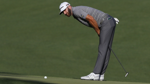 Johnson has slipped to third in the rankings after a poor finish to the PGA Tour season