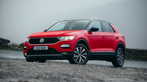 Volkswagen's new small crossover - the T-Roc