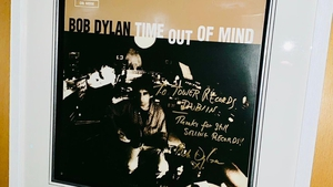Bob Dylan's signed record