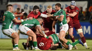 Munster's trip to Treviso was eventful