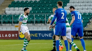 Roberto Lopes was among the goals for Shamrock Rovers tonight