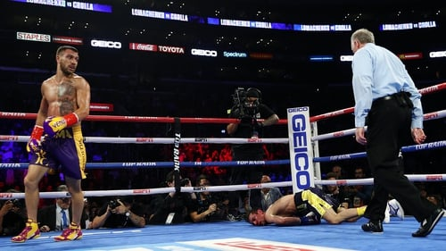 Lomachenko destroys Crolla with fourth round KO