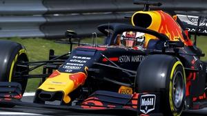 Max Verstappen during qualifying