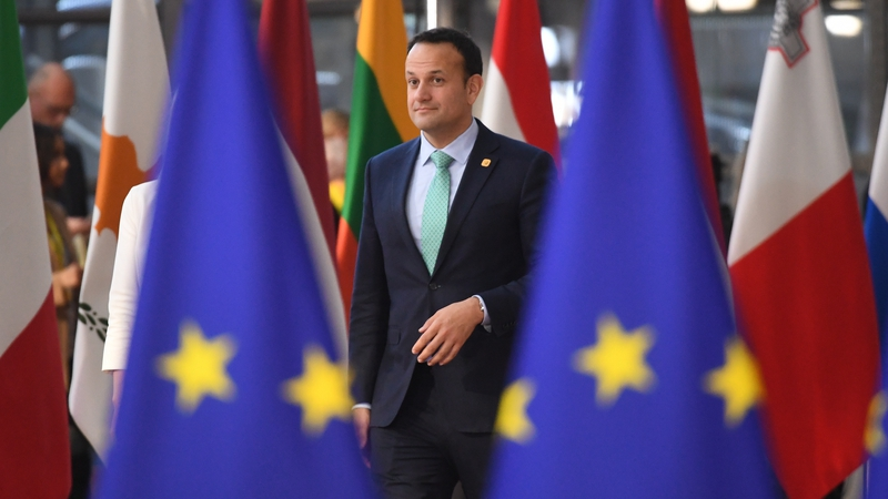 Leo Varadkar will travel to Brussels after Dáil vote (file image)