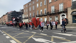 Protesters say that people in need of emergency cardiac care out of hours must be transferred to Cork