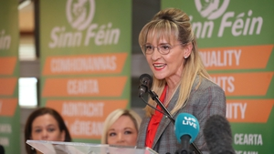 The remarks, made in a post to Martina Anderson's Twitter account, were later deleted
