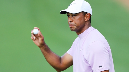All eyes will be on Tiger Woods today