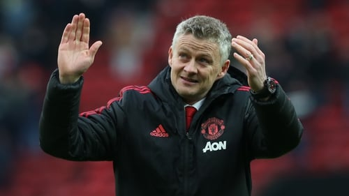 Ole Gunnar Solskjaer admitted his team were lucky to escape with three points at Old Trafford