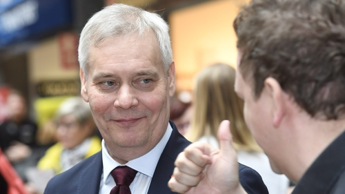 Antti Rinne is leader of the Social Democrats