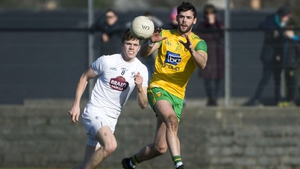 Odhrán MacNiallais in action for Donegal in 2018