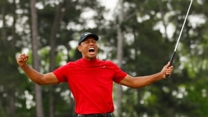 Tiger Woods won his 15th major at last month's Masters