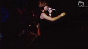 The U2 footage shows a young, energetic and vibrant band