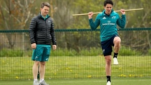 Joey Carbery (r) is unlikely to feature in the semi-final